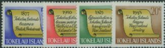 TOK SG16-19 History of Tokelau set of 4
